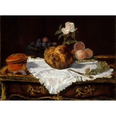 Puzzle Grafika-01126 Edouard Manet - La Brioche, 1870