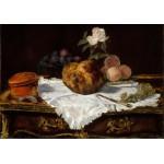 Puzzle  Grafika-01127 Edouard Manet - La Brioche, 1870
