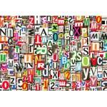 Puzzle  Grafika-01135 Buchstabensalat