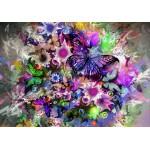 Puzzle  Grafika-01137 Schmetterlinge