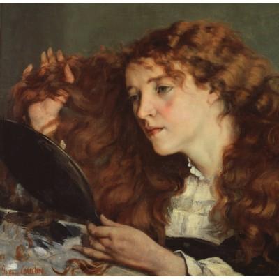 Puzzle Grafika-01156 Gustave Courbet: Jo, La Belle Irlandaise, 1866