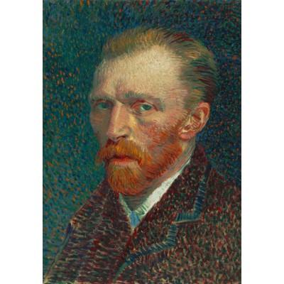 Puzzle Grafika-01170 Vincent van Gogh: Selbstbildnis, 1887