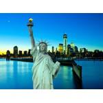 Puzzle  Grafika-01199 New York City bei Nacht, USA