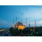 Puzzle  Grafika-01208 Blaue Moschee, Türkei