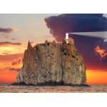 Puzzle  Grafika-01210 Stromboli Lighthouse, Italy
