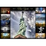 Puzzle  Grafika-01217 Collage - New York