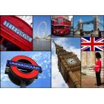 Puzzle  Grafika-01218 Collage - London