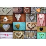 Puzzle  Grafika-01221 Collage - Love