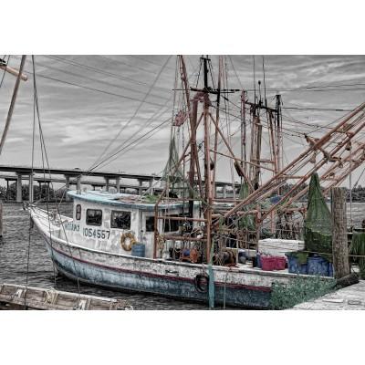 Puzzle Grafika-01250 Fischerboot