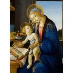 Puzzle  Grafika-01284 Sandro Botticelli: Madonna des Buches, 1480