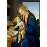 Puzzle  Grafika-01285 Sandro Botticelli: Madonna des Buches, 1480