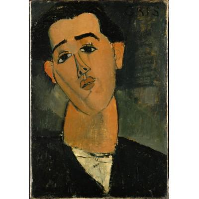 Puzzle Grafika-01298 Amedeo Modigliani: Juan Gris, 1915