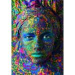 Puzzle  Grafika-01299 Face Art: Portrait einer Frau
