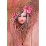 Puzzle  Grafika-01306 Misstigri: Sweet Pinky Girl
