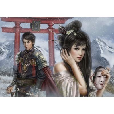Puzzle Grafika-01392 Beyond the Torii