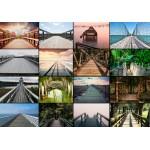 Puzzle  Grafika-01405 Collage - Brücken