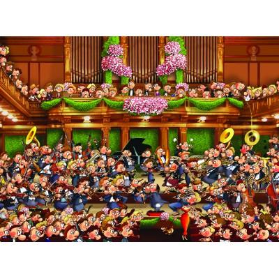 Puzzle Grafika-01425 François Ruyer: Orchester