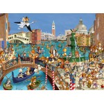Puzzle  Grafika-01442 François Ruyer: Venedig
