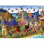 Puzzle  Grafika-01448 François Ruyer: Hexen
