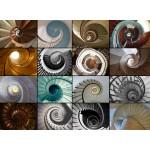 Puzzle  Grafika-01479 Collage - Treppen