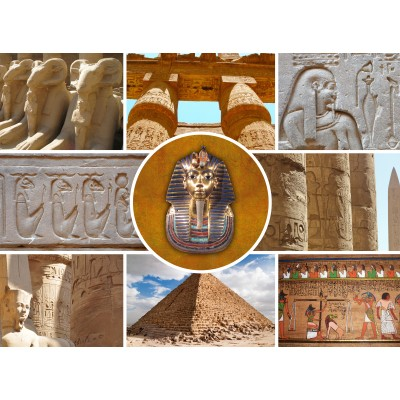 Puzzle Grafika-01487 Collage - Ägypten