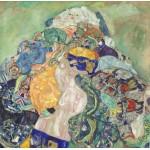 Puzzle  Grafika-01509 Gustav Klimt: Baby, 1917/1918