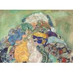 Puzzle  Grafika-01510 Gustav Klimt: Baby, 1917/1918