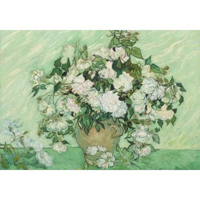 Puzzle Grafika-01524 Vincent Van Gogh - Roses, 1890