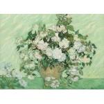 Puzzle  Grafika-01525 Vincent Van Gogh - Roses, 1890