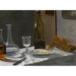 Puzzle  Grafika-01541 Claude Monet - Stillleben mit Flaschen, 1863