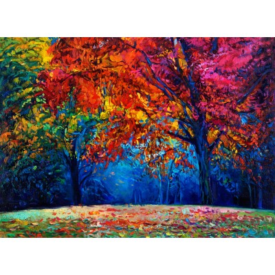 Puzzle Grafika-01547 Herbstwald