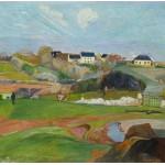 Puzzle  Grafika-01587 Paul Gauguin: Le Pouldu, 1890