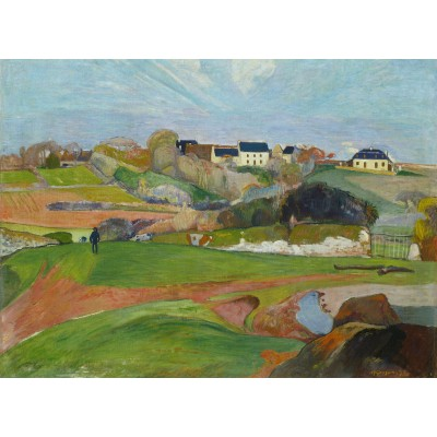 Puzzle Grafika-01589 Paul Gauguin: Le Pouldu, 1890