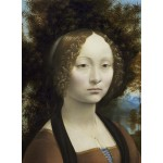 Puzzle  Grafika-01590 Leonard de Vinci: Ginevra de' Benci, 1474-1476