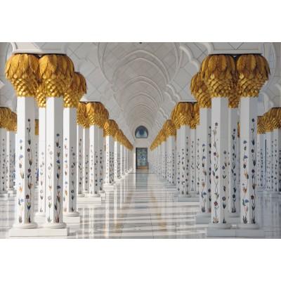 Puzzle Grafika-01598 Die Scheich-Zayid-Moschee, Abu Dhabi