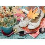 Puzzle  Grafika-01628 Vintage Dancing Shoes