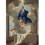 Puzzle  Grafika-01667 Nicolas Poussin: The Assumption of the Virgin, 1630/1632