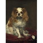 Puzzle  Grafika-01708 Edouard Manet: A King Charles Spaniel, 1866