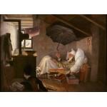 Puzzle  Grafika-01714 Carl Spitzweg - Der arme Poet, 1839