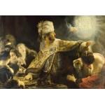 Puzzle  Grafika-01735 Rembrandt - Belsazar, 1636-1638