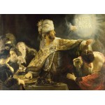 Puzzle  Grafika-01736 Rembrandt - Belsazar, 1636-1638