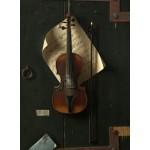 Puzzle  Grafika-01771 William Michael Harnett: The Old Violin, 1886