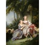Puzzle  Grafika-01790 François Boucher : The Love Letter, 1750