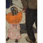 Puzzle  Grafika-01809 Edouard Vuillard: Child Wearing a Red Scarf, 1891
