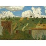 Puzzle  Grafika-01812 Edouard Vuillard: Landscape of the Ile-de-France, 1894