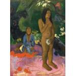 Puzzle  Grafika-01829 Paul Gauguin: Parau na te Varua ino (Words of the Devil), 1892