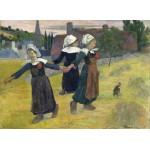 Puzzle  Grafika-01832 Paul Gauguin: Breton Girls Dancing, Pont-Aven, 1888