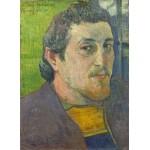 Puzzle  Grafika-01838 Paul Gauguin: Self-Portrait Dedicated to Carrière, 1888-1889