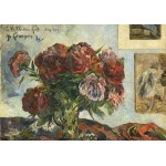 Puzzle  Grafika-01857 Paul Gauguin: Still Life with Peonies, 1884