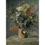 Puzzle  Grafika-01872 Auguste Renoir : Flowers in a Vase, 1866